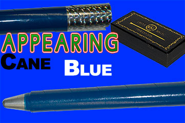Appearing Cane, Recoil Stopper - Metal - Blue