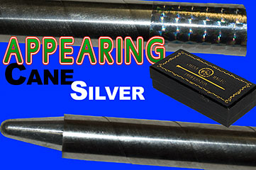 Appearing Cane, Recoil Stopper - Metal - Silver