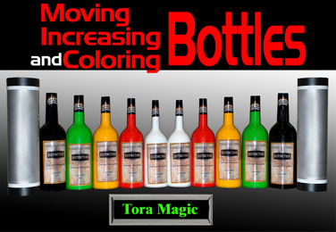 Moving, Increasing and Coloring Bottles #10 -Tora