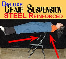 Chair Suspension, Deluxe - STEEL