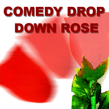 Comedy Drop Down Rose