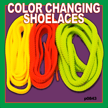 Color Changing Shoelace