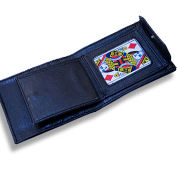 Card to Wallet, Leather, Hip - Modern