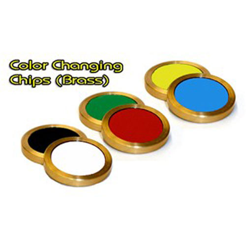 Color Changing Chips - Brass