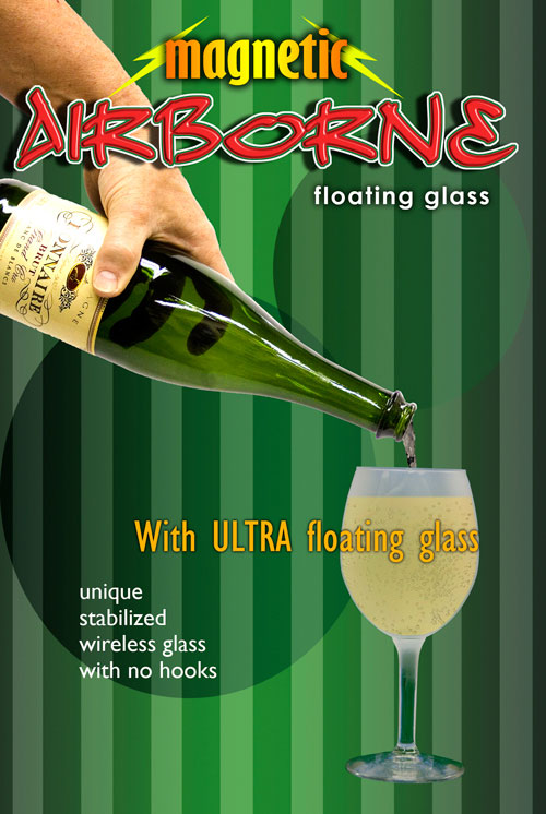 Airborne, Magnetic - Champagne  w/ Ultra Glass