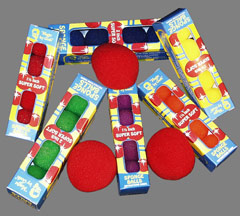 "Sponge Balls 4"" SS Red 1-BAG"