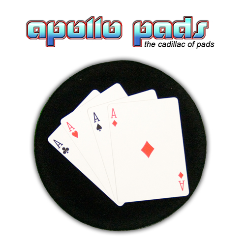 "Apollo SpotLight  6"" Round Black"