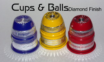 Cups & Balls - Diamond Finish