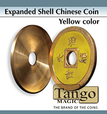 Expanded Chinese Yellow Coin Shell - Tango