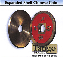 Expanded Chinese Red Coin Shell - Tango