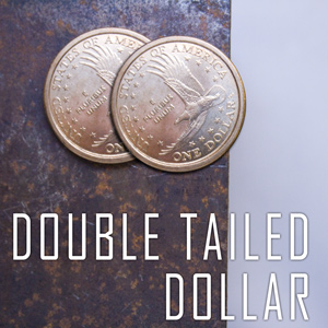 Double Sided Coin - Dollar Gold Coin - Tails