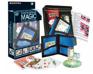 Magic Set - Pocket Wallet w/DVD