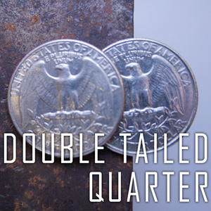 Double Sided Coin - Quarter - Tails