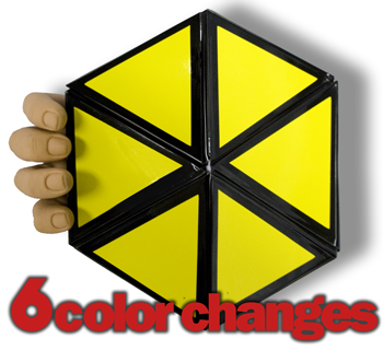 Color Changing Hexagon w/ DVD