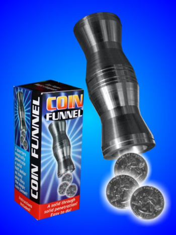 Coin Funnel, Aluminum - Boxed