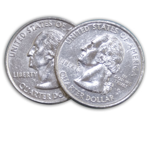 Double Headed Quarter - Flosso