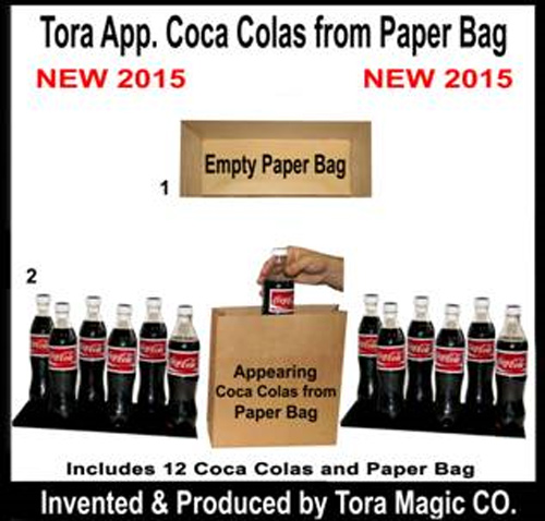 Appearing 12  Coke from Bag w/ 2 Bases