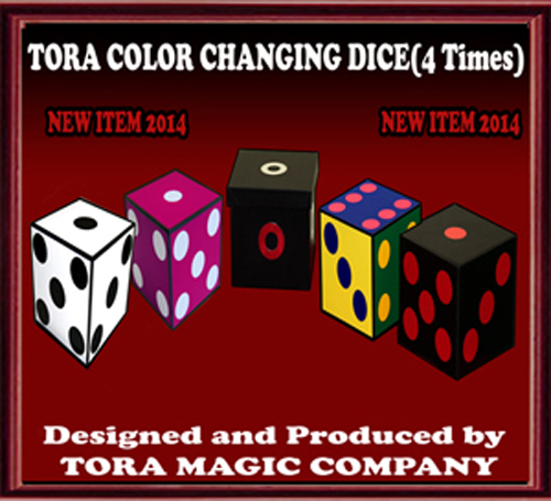Color Changing Dice (4 times) - Tora