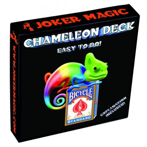 Chameleon Deck, Bicycle - Europe