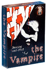 Vampire Cards, Bicycle - Boxed