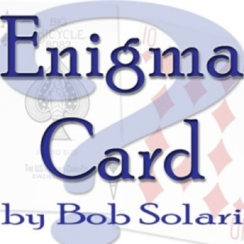 Enigma Card, Bicycle  - Solari