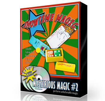 Magic Set - Mysterious #2 w/ 3 DVDs