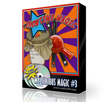 Magic Set - Mysterious #3 w/ 3 DVDs
