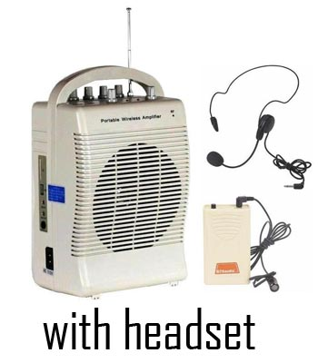 Portable Amp- Headset