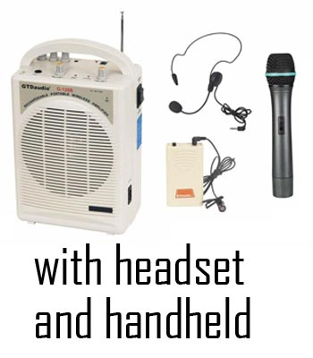 Portable Amp - Headset & Handheld