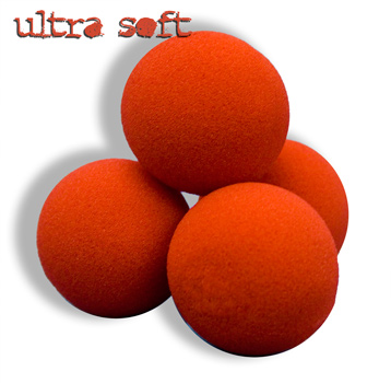 "Sponge Balls 1.5"" Ultra SS Red"