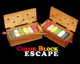 Color Block Escape - Wood