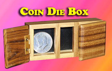 Coin Die Box
