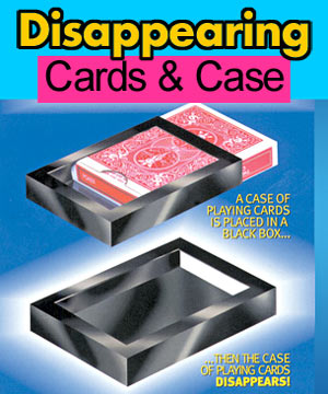 Dis-Appearing Cards & Case
