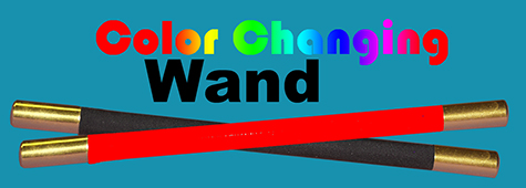 Color Changing Wand - Metal Tip