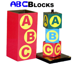 ABC Blocks - Wood