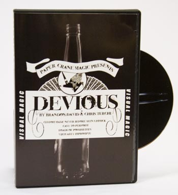 Devious w/ Gimmick & DVD - B. David