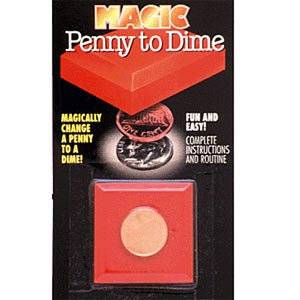 Penny to Dime Block, Carded