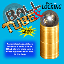 Ball & Tube Mystery - Reverse Lock