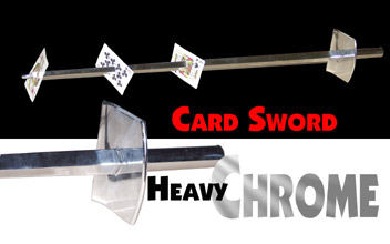 Card Sword - Chrome Boxed