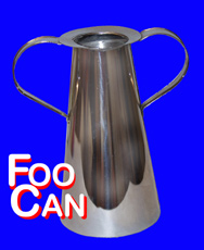 Foo Can w/ Handle - Boxed