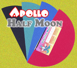 "Apollo Half-Moon 18"" Black"