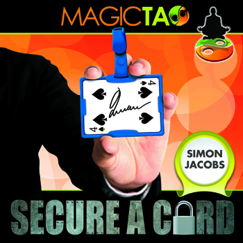 Secure a Card w/ DVD Red - S. Jacobs