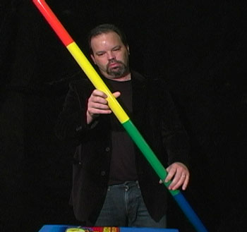 Appearing Multi-Color Pole