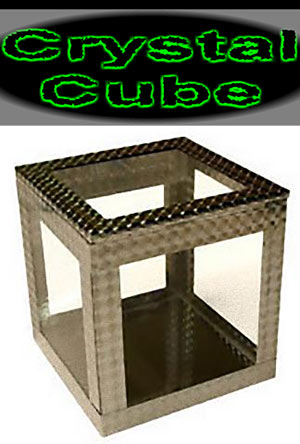 Crystal Cube 4 inch - I. Pickle