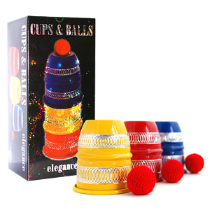 Cups and Balls, Boxed - Elegance