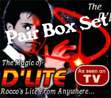 D'Lite PAIR, Box Set - RED
