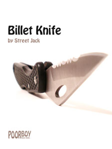 Poor Boy Billet Knife by Street Jack