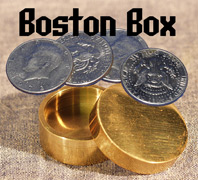 Boston Box, Half Dollar - Brass
