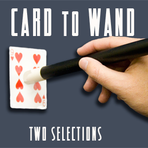 Card to Wand w/ 2 Shimmed Cards