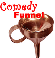 Comedy Funnel - Chrome plated, Brass